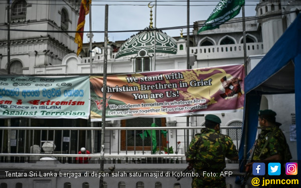 Sri Lanka Mencekam, Banyak Masjid Tak Gelar Jumatan - JPNN.com