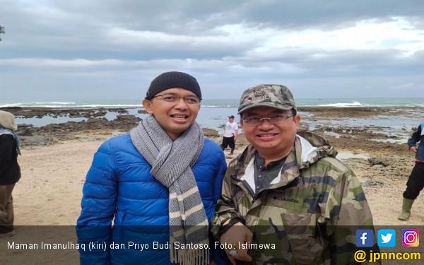Adem, Elite TKN dan BPN Zikir Bareng di Hutan Sancang - JPNN.com