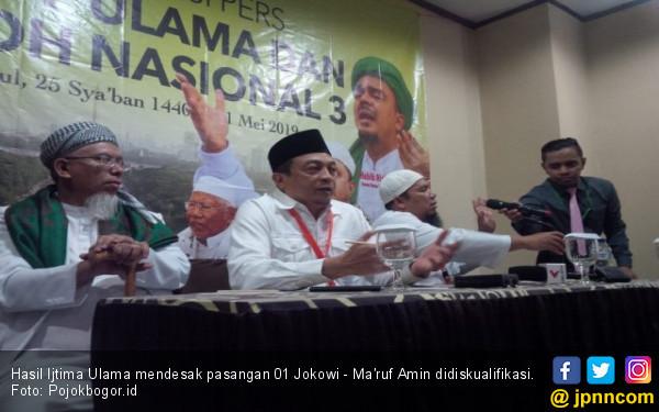 Hasil Ijtima Ulama III Mendesak Jokowi - Ma'ruf Amin Didiskualifikasi - JPNN.com