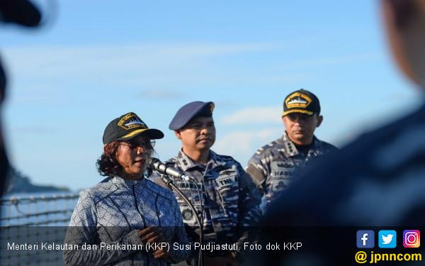 KKP dan TNI AL Tangkap Kapal Buruan Interpol di Perairan Selat Malaka - JPNN.com