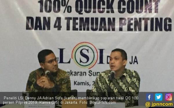 Dulu Empat Provinsi Ini Dimenangi Jokowi, Sekarang Prabowo Berjaya - JPNN.com