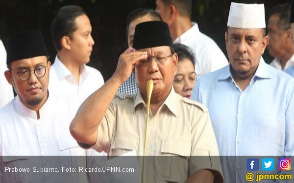 Tuduhan Prabowo ke Polri soal Status Tersangka buat Bachtiar Nasir - JPNN.com