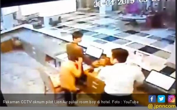 Oknum Pilot Lion Air jadi Tersangka Kasus Pemukulan Petugas Hotel - JPNN.com