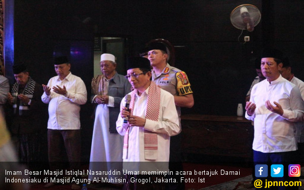 Nasaruddin Umar Pengin Figur Menhan di Kabinet Jokowi-Ma'ruf Seperti Ini - JPNN.com