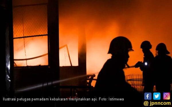 Ibu Lupa Matikan Kompor, Rumah Terbakar - JPNN.com