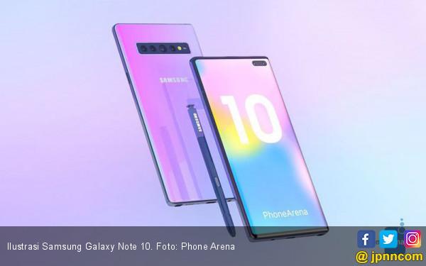 Ditengarai Samsung Galaxy Note 10 Dibekali Pengisian Daya Cepat di Atas 25W - JPNN.com