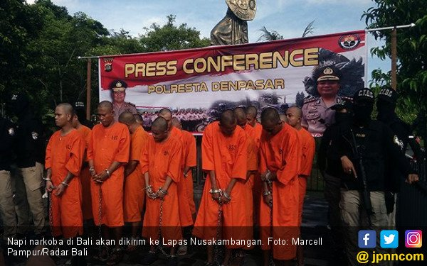 Culun! Bandar Narkoba di Bali Takut Dikirim ke Nusakambangan - JPNN.com
