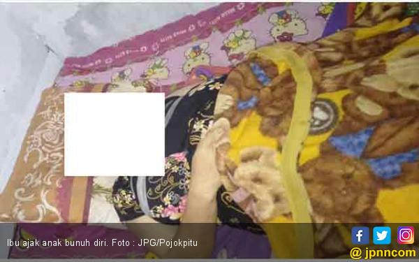 Ibu Tega Ajak Anak Bunuh Diri Minum Racun - JPNN.com