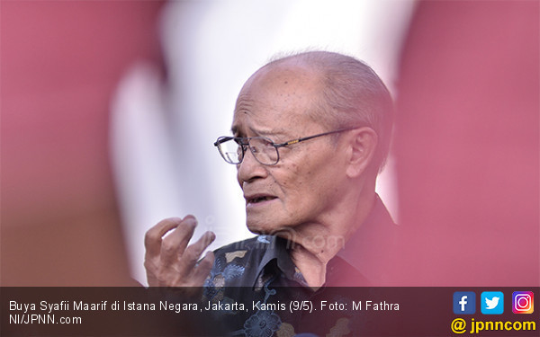 Buya Syafii Minta Jokowi Pilih Sosok Pandai Bergaul jadi Mendikbud, Siapa?