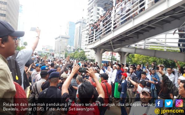 Menurut Intelijen, Pendukung Prabowo Bakal Tetap Demo di MK - JPNN.com