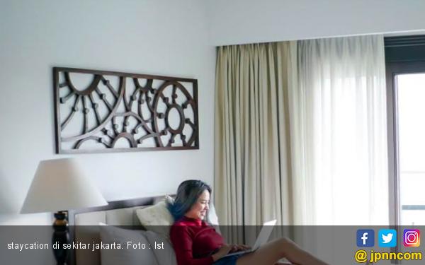 Staycation Jadi Pilihan Marischka Prudence untuk Mengisi Weekend - JPNN.com