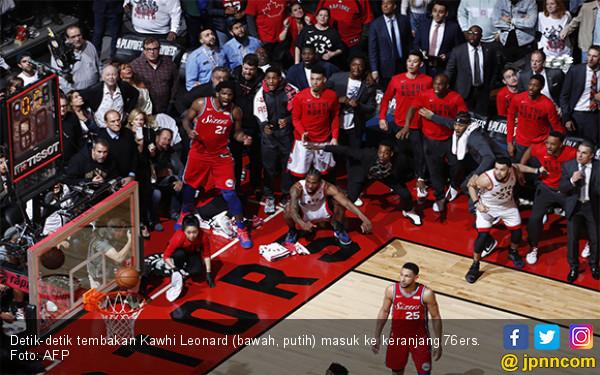 Kawhi Antar Raptors ke Final Wilayah Timur NBA dengan Cara yang Luar Biasa - JPNN.com