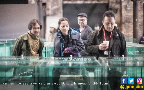 Paviliun Indonesia di Venice Biennale 2019, Representasi Ciri Khas Bangsa - JPNN.com