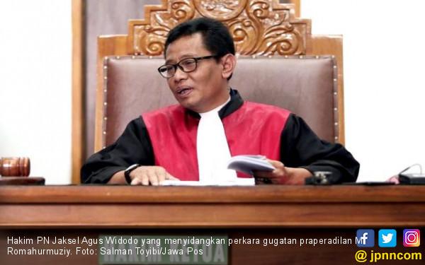 Tok Tok Tok, PN Jaksel Tolak Gugatan Praperadilan Romahurmuziy - JPNN.com