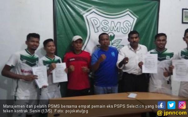 4 Pemain Eks PSPS Selection Resmi Berkostum PSMS Medan - JPNN.com