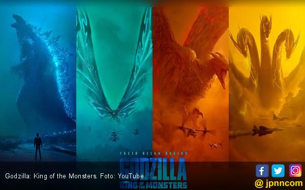Serunya Pertarungan Antarmonster dalam Godzilla: King of the Monsters - JPNN.com