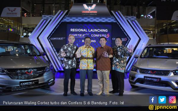 Giliran Bandung Digoyang Wuling Cortez Turbo dan Confero S - JPNN.com