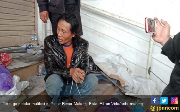 Pengakuan Terbaru Terduga Pelaku Mutilasi Pasar Besar Malang, Sungguh Ngeri! - JPNN.com