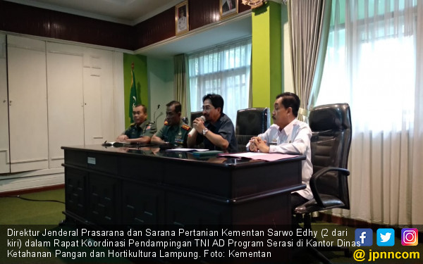 Gandeng TNI AD, Kementan Maksimalkan Potensi Lahan Rawa di Lampung - JPNN.com