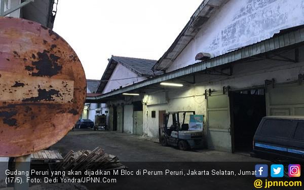 M Bloc, Bekas Gudang Uang Jadi Gedung Konser - JPNN.com
