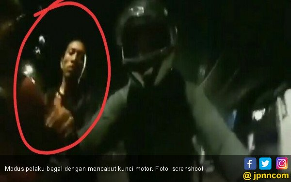 Polisi Buru Pelaku Begal Cabut Kunci di Jakarta Selatan - JPNN.com