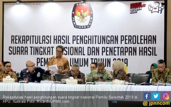 Ribut Isu Teroris 22 Mei, KPU Tak Ambil Pusing Tetap Fokus Sahkan Perolehan Suara - JPNN.com