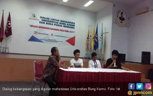 Forum Lintas Mahasiswa UBK Gelar Dialog Kebangsaan - JPNN.com