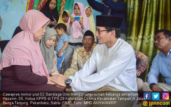 Sandiaga Uno Minta Pendukung 02 Tunggu Surat Wasiat Prabowo - JPNN.com