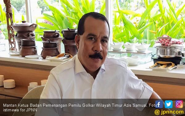 Golkar Hanya Raup 85 Kursi di DPR, Azis Samual: Ketum dan Sekjen Harus Mundur - JPNN.com