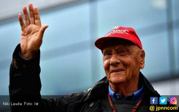 Berita Duka Legenda Tiga Kali Juara Dunia F1, Niki Lauda - JPNN.com