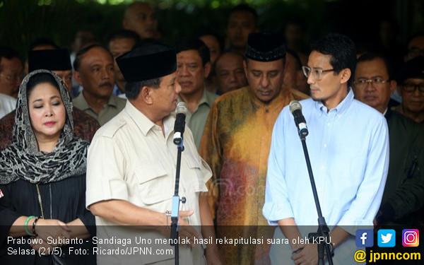 Pesan Prabowo kepada Para Pendukungnya - JPNN.com