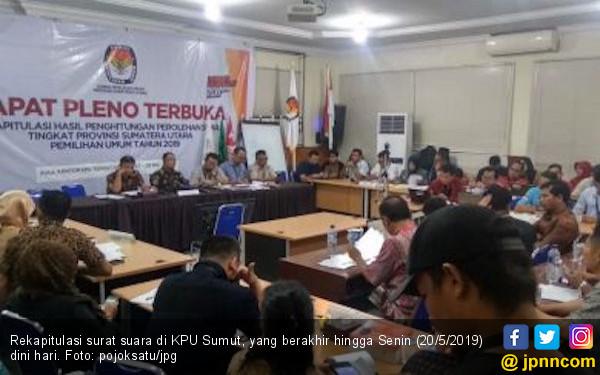 Hasil Rekapitulasi KPU, Ini Daftar Nama 19 Senator dari Sumut - JPNN.com