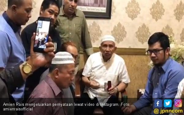 Demo di Bawaslu: Amien Rais Sebut Negara Bisa Bubar, Sudah 3 Meninggal, Tito Bertanggung Jawab - JPNN.com