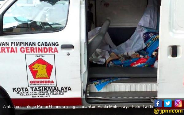 Ambulans Gerindra Terkait Keponakan Prabowo, Penumpangnya Tak Punya Kemampuan Medis - JPNN.com