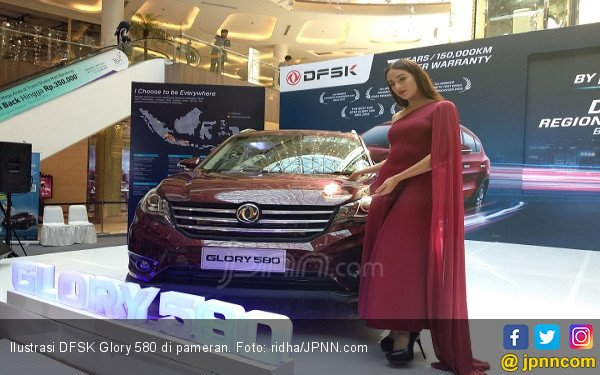 DFSK Glory 580 Buatan Indonesia Resmi Dikapalkan ke Hong Kong