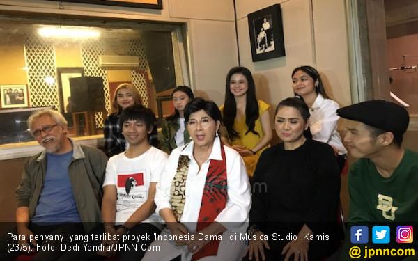Sikapi Rusuh 21-22 Mei, Om Iwan Fals Hingga Eyang Titiek Puspa Suarakan 'Indonesia Damai' - JPNN.com