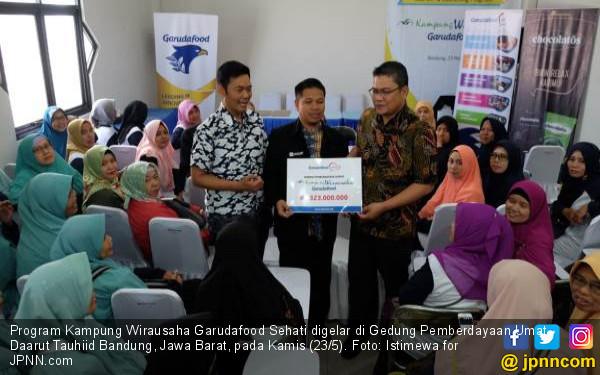 Giliran Kota Bandung jadi Lokasi Program Kampung Wirausaha Garudafood Sehati - JPNN.com