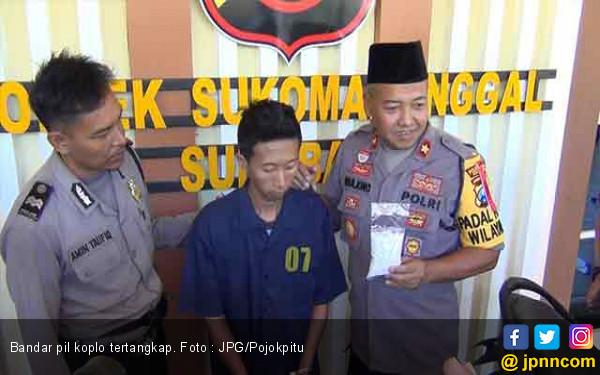 Pria Ini Sering Jual Narkoba untuk Pelajar SMP dan SMA - JPNN.com