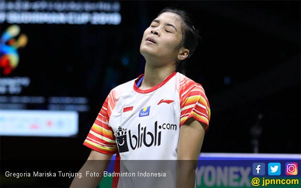 Semifinal Sudirman Cup 2019: Gregoria Mariska Akui Enggak Tahan Sama Reli Akane - JPNN.com