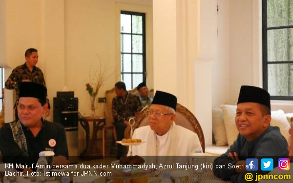 Bicara di Hadapan Ma'ruf Amin, Soetrisno Bachir Berharap Azrul jadi Menteri - JPNN.com