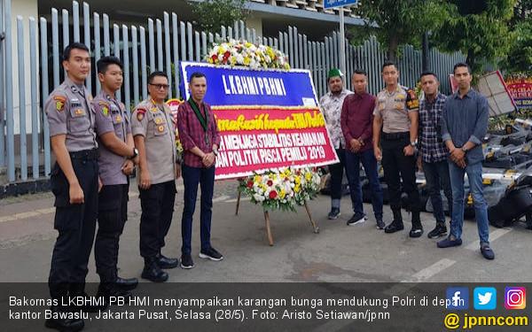 Bakornas LKBHMI PB HMI: Tangkap Aktor Intelektual di Balik KerusuhanAksi22 Mei - JPNN.com