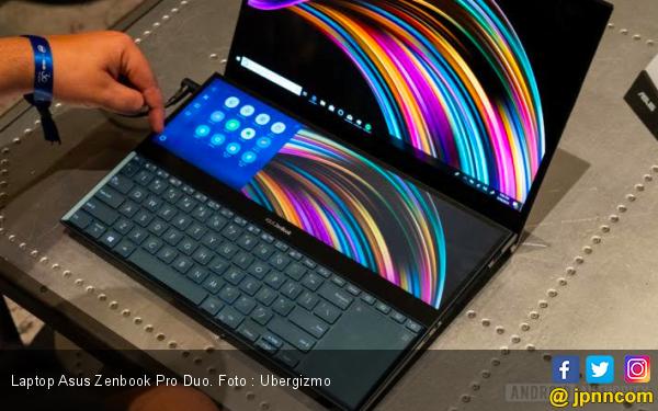 Asus Luncurkan Laptop dengan Dua Layar Sentuh Pertama di Dunia - JPNN.com