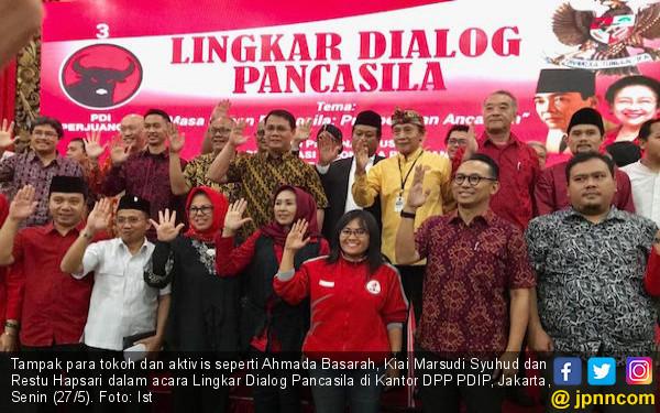 PDIP Ajak Para Tokoh untuk Menggelorakan dan Mempraktikkan Nilai - Nilai Pancasila - JPNN.com