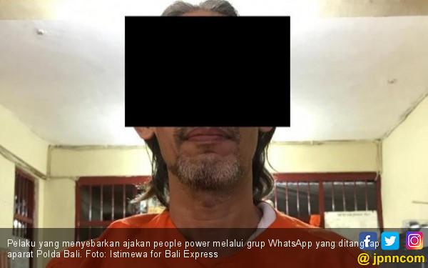 Sebar Ajakan People Power, Mantan Guru Langsung Dibekuk - JPNN.com