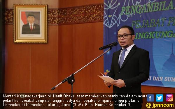 Menaker Hanif Dhakiri Minta Predikat WTP Terus Dipertahankan - JPNN.com
