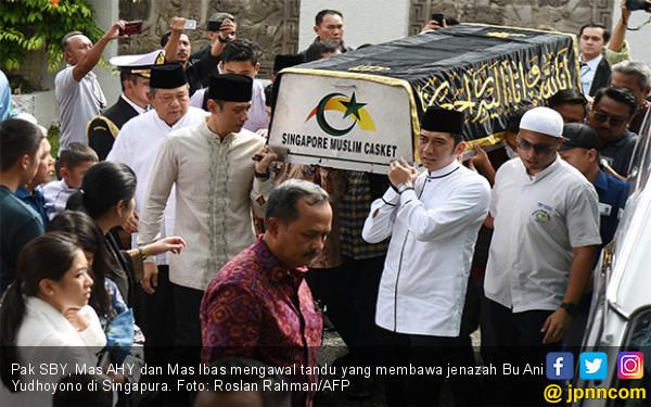 Ungkapan Mengharukan Fahri Hamzah atas Kepergian Ibu Ani Yudhoyono - JPNN.com