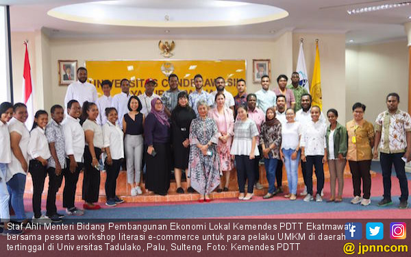 Kemendes PDTT Gelar Workshop Literasi e-Commerce untuk Pelaku UMKM - JPNN.com