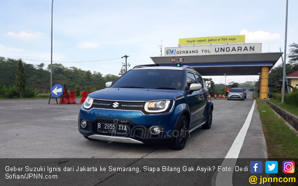 Geber Suzuki Ignis dari Jakarta ke Semarang, Siapa Bilang Gak Asyik? - JPNN.com