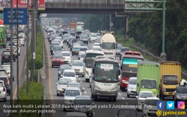 Tol Cikampek Menuju Jakarta Padat - JPNN.com