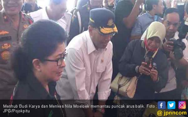 Libur Lebaran, Dua Menteri Pilih Pantau Puncak Arus Balik - JPNN.com
